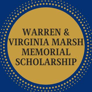 Warren & Virginia Marsh Memorial Scholarship
