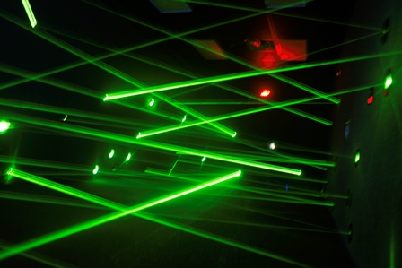 Laser Maze Party