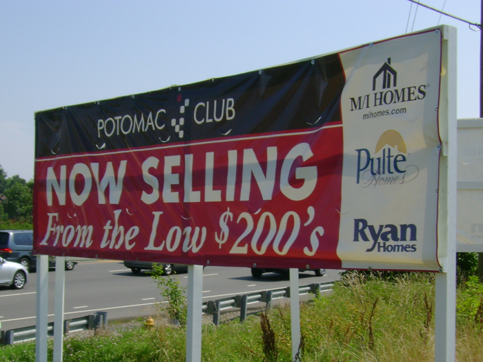 Potomac Club Custom Banner