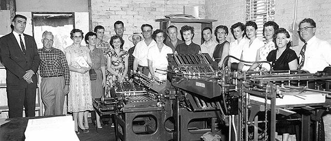 Pittcraft Printing 1950's