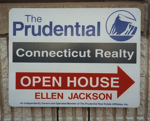 "Real Estate Agent ""Open House"" Sign"