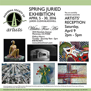 2016 Spring Juried Exhibition