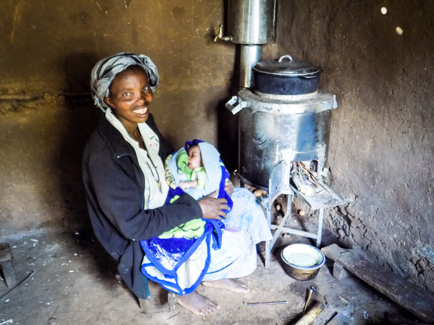 ANNE: MOTHER of ZIPPORAH - who tripped and fell into water being boiled on an open fire. | NAKURU