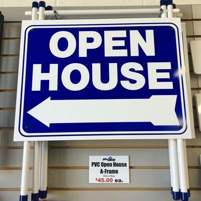 Blue Open House PVC