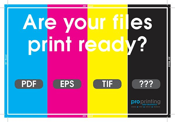 Are Your Files Print Ready?