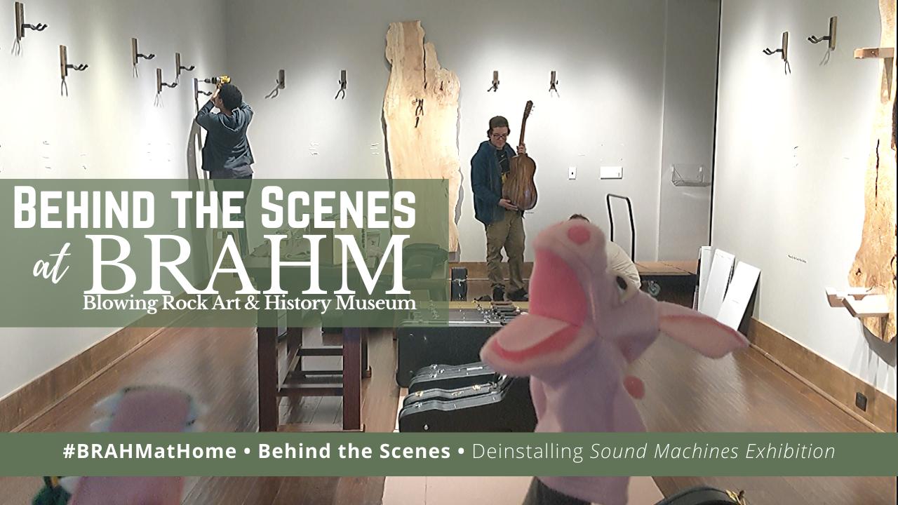 Behind the Scenes at BRAHM:  Sound Machines Deinstall
