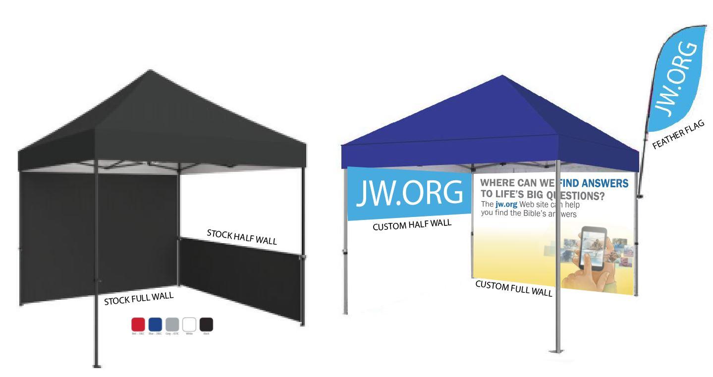 Tent Add On- HALF WALL