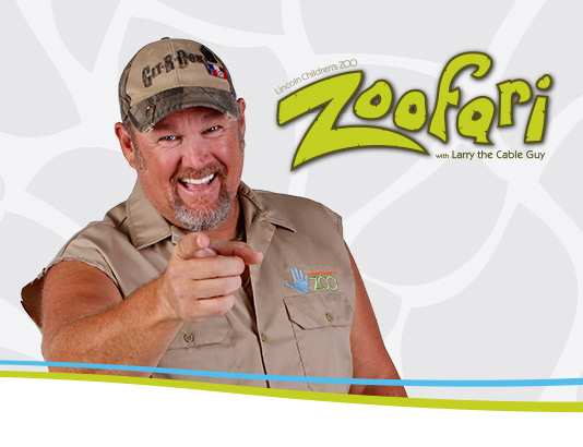 Zoofari with Larry the Cable Guy