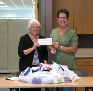 Mid Michigan Community Action Donates to DHS Back to School Program