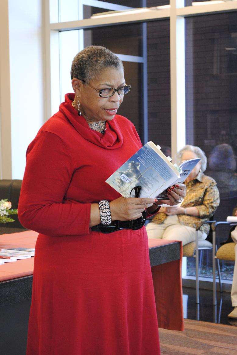 Priscilla Hancock Cooper reads.