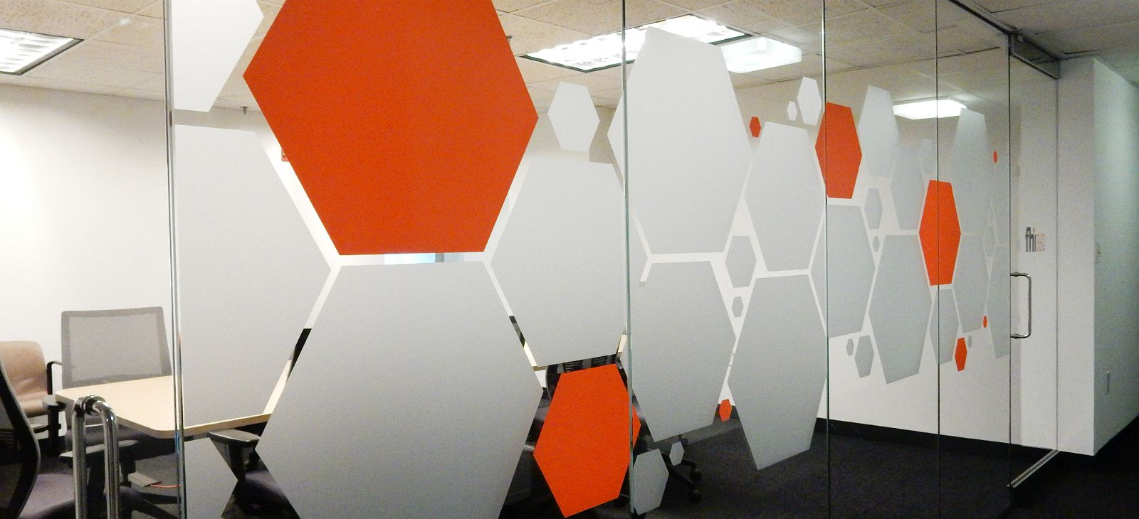 Conference Room Frosted Vinyl