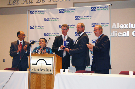 Congratulations to St. Alexius Medical Center and Mayo Clinic Care Network