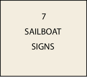 L21300 - Sailboat Signs