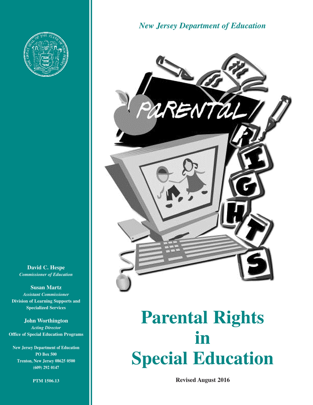 Parental Rights in Special Education (PRISE)