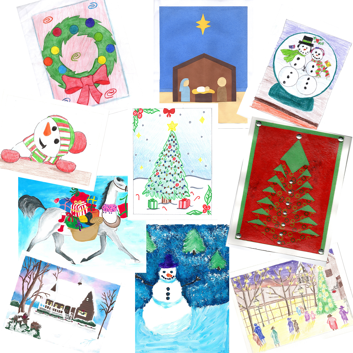 21 - Previous Holiday Card Assortment - Cannot Be Personalized