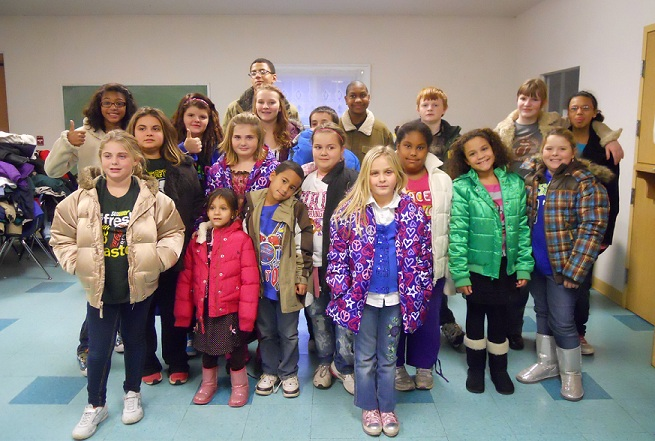 Youth Foundation Wraps Up Successful Winter Coat Drive