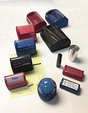 Pre-Inked Custom Stamps