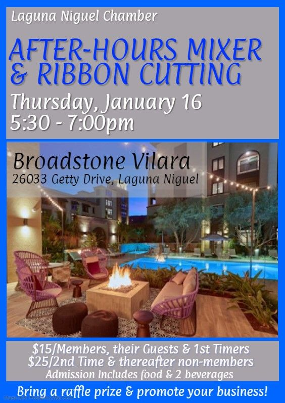 After-Hours Mixer & Ribbon Cutting