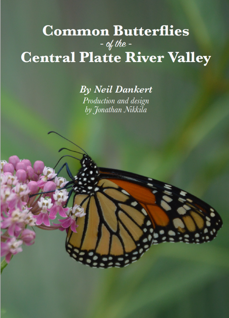 Donate To The Nebraska Master Naturalist Program For A Copy of Common Butterflies of the Central Platte River Valley Guide