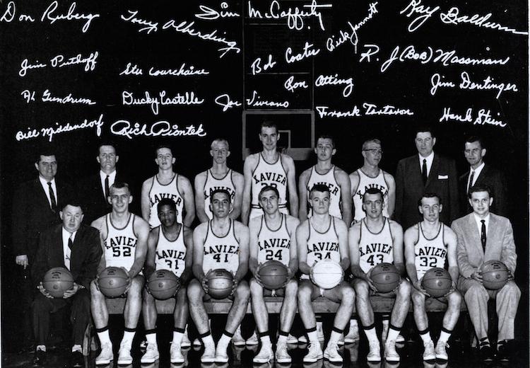 Xavier University Men 1958