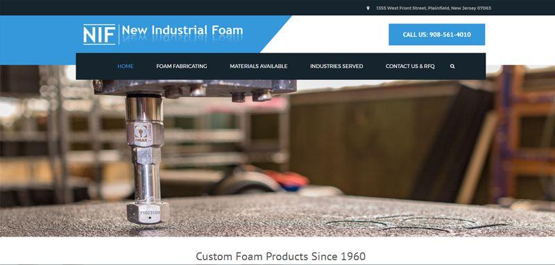 Industrial Foam: Web Development
