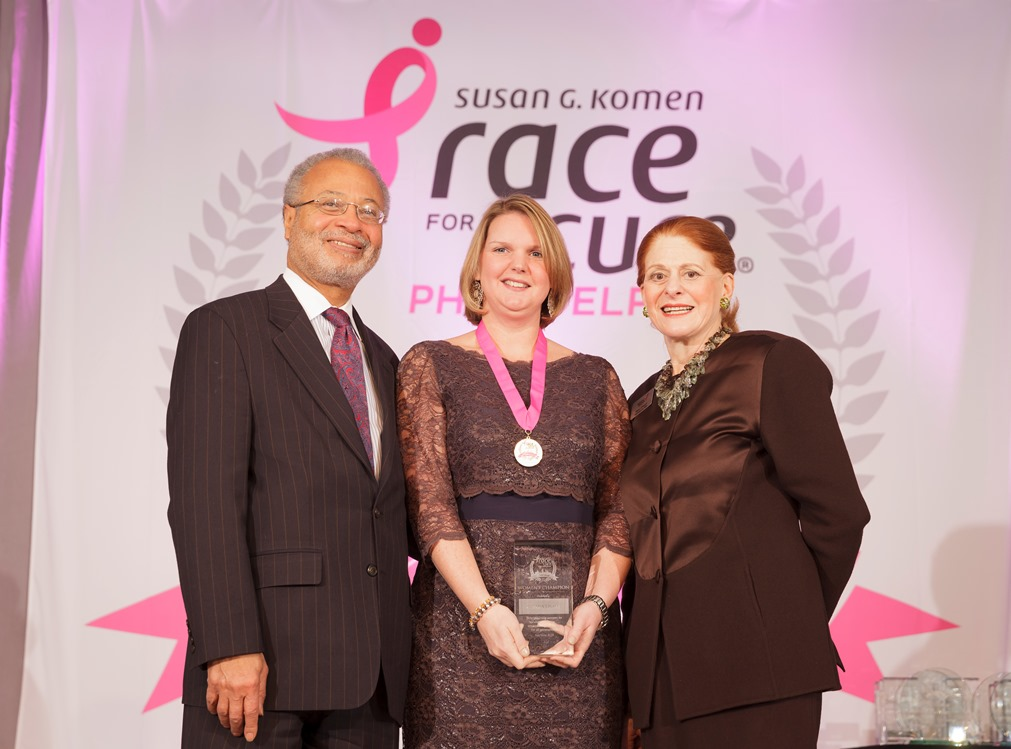 AWP was honored with the Susan G. Komen recognition award.