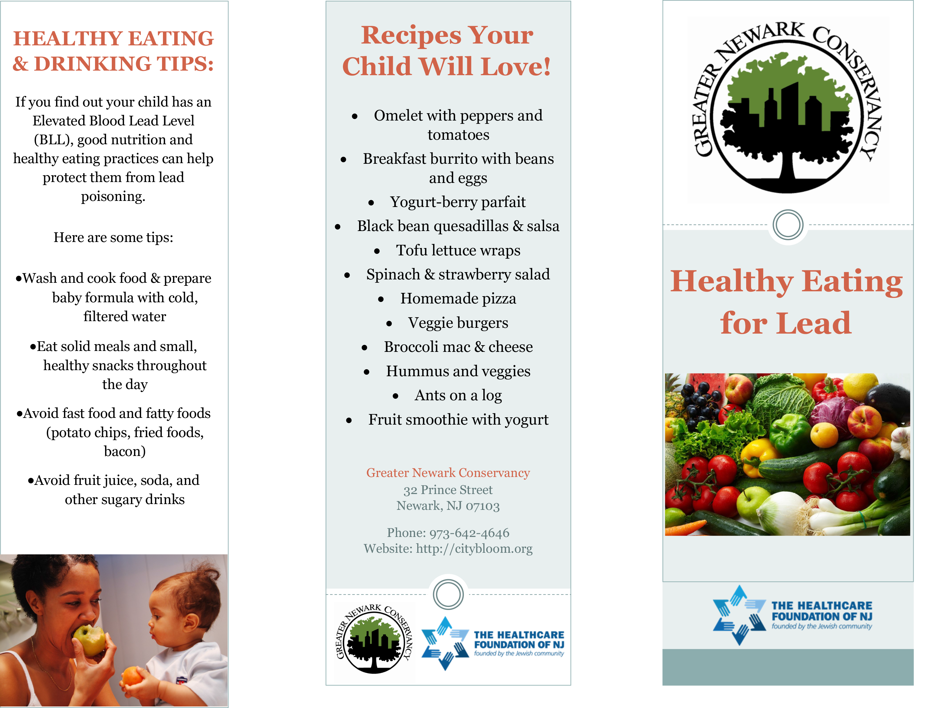 Healthy Eating for Lead
