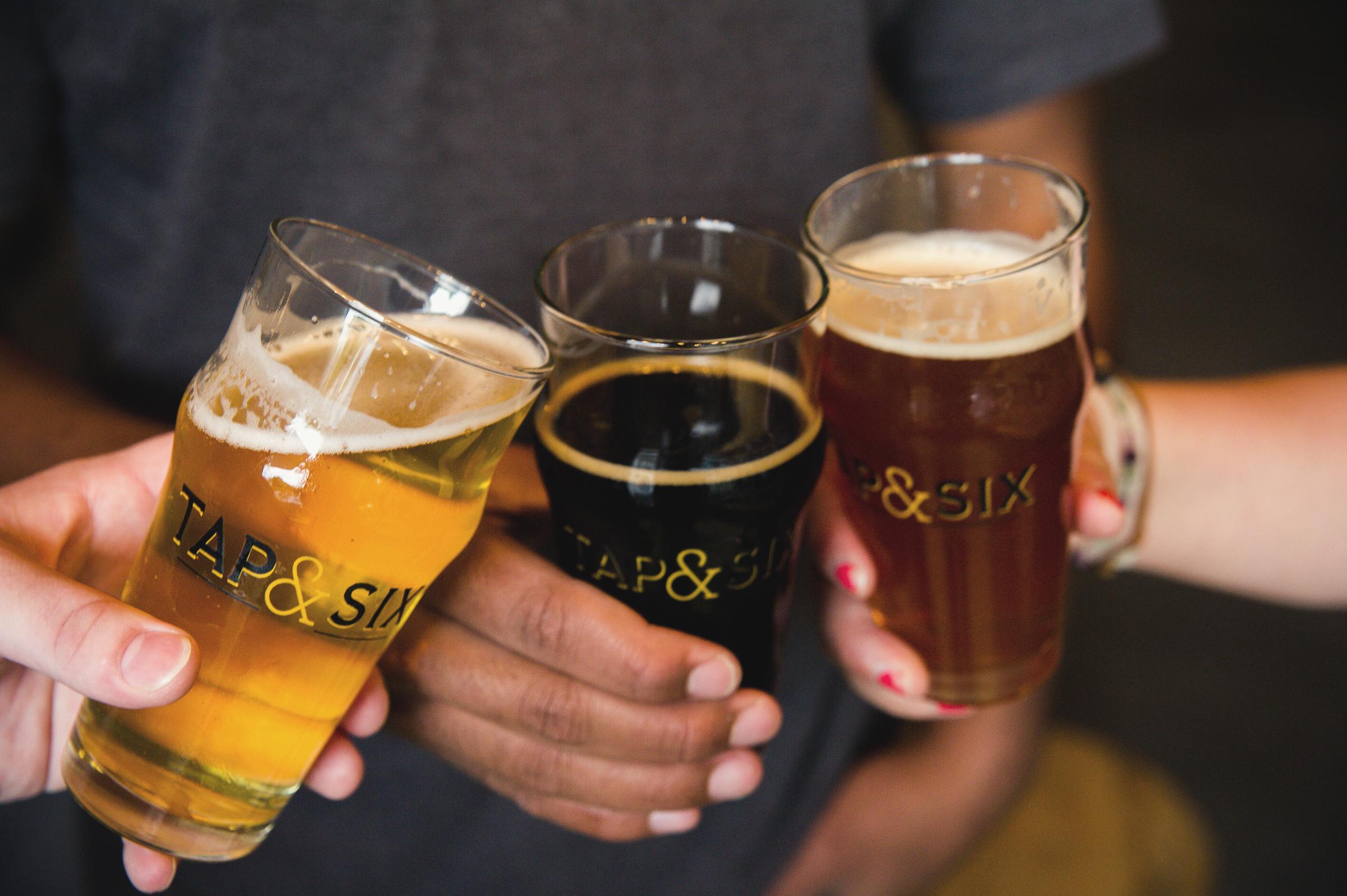 German Beer Tap Takeover