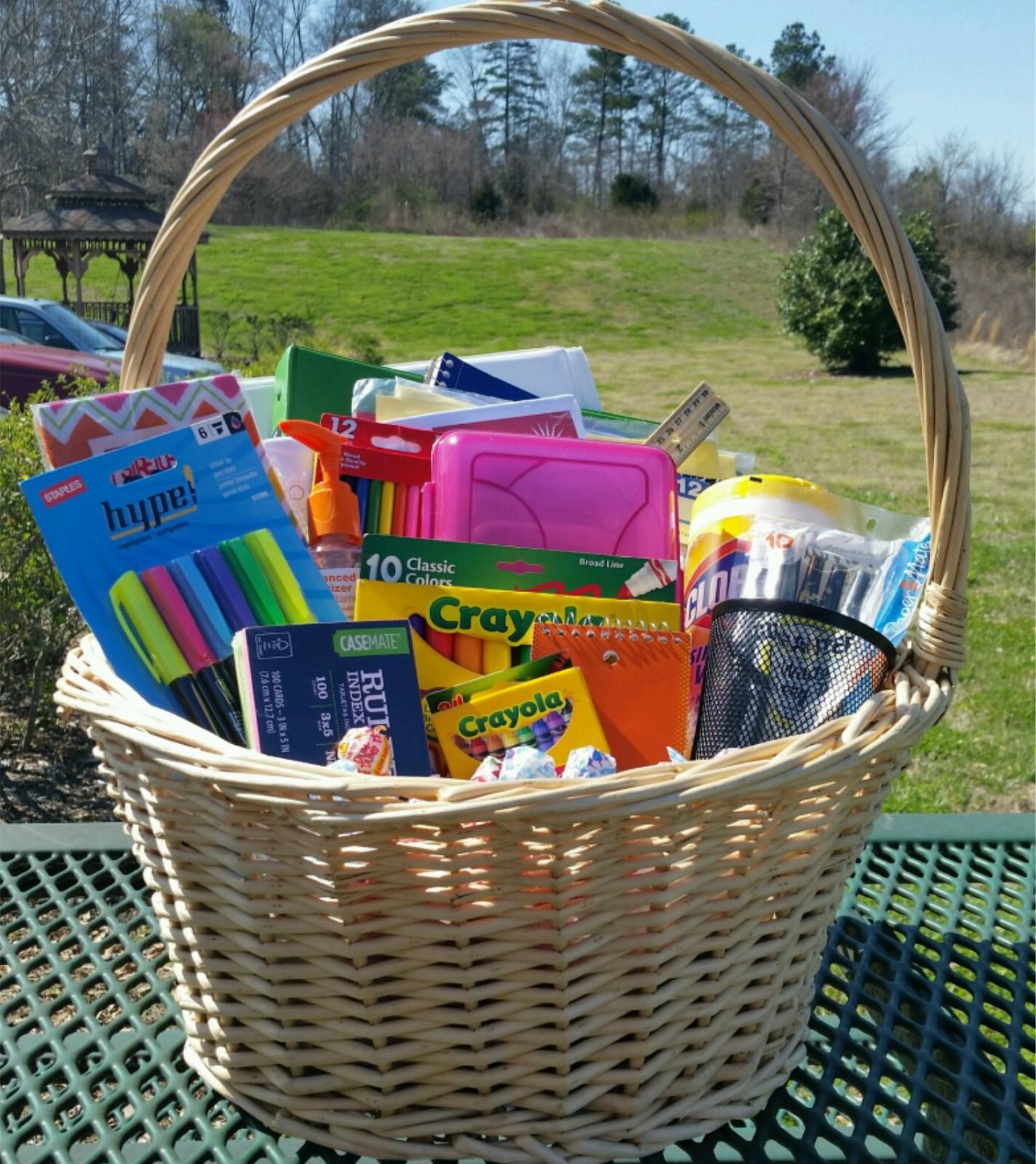 Large Classroom Supply Basket