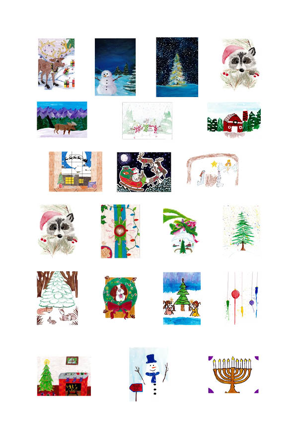 22 - 2020 Holiday Card Assortment - Cannot Be Personalized