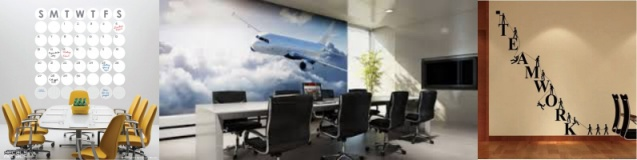 6 Ways to spice up your office with Vinyl Wall Decals, Murals and Lettering – Boca Raton, FL