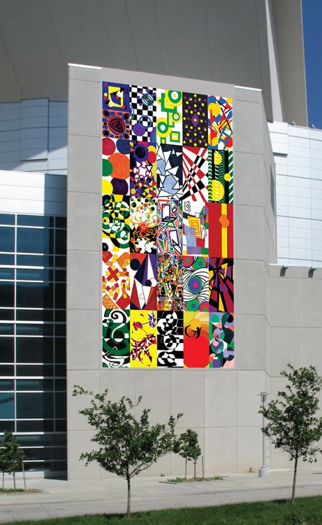 Saturday July 9th at 12:00 noon Omaha's Cultural Quilt is publicly unveiled