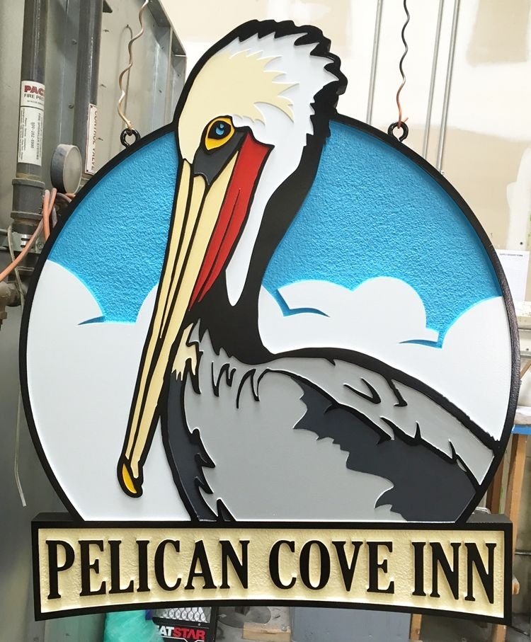 "M1662 - Sign for ""Pelican Inn"" (Gallery 20)"