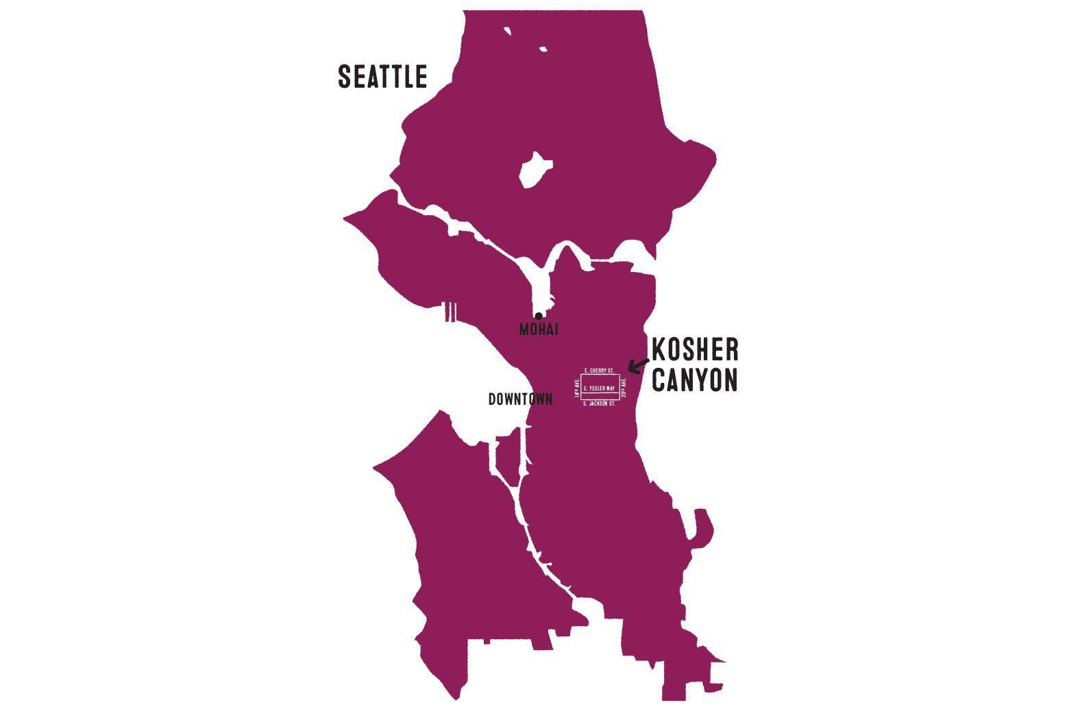 Seattle Historic Sephardic Jewish Map Tour