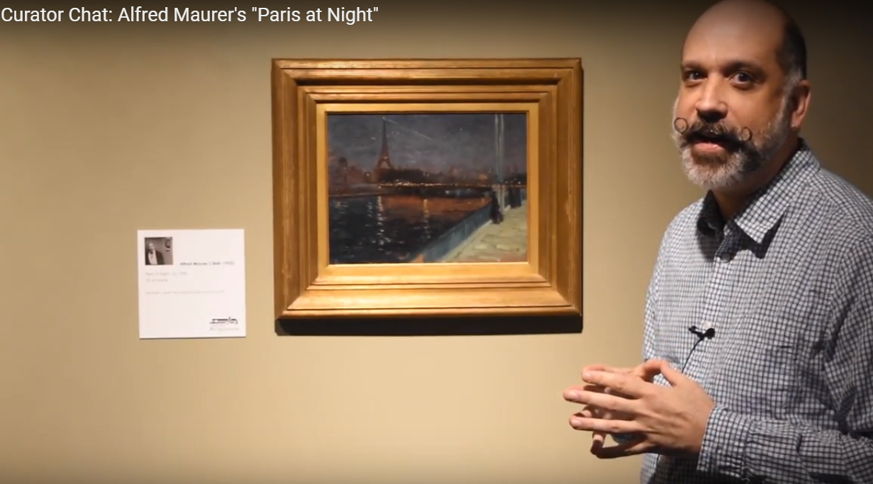 "Curator Chat - Alfred Maurer's ""Paris at Night"""