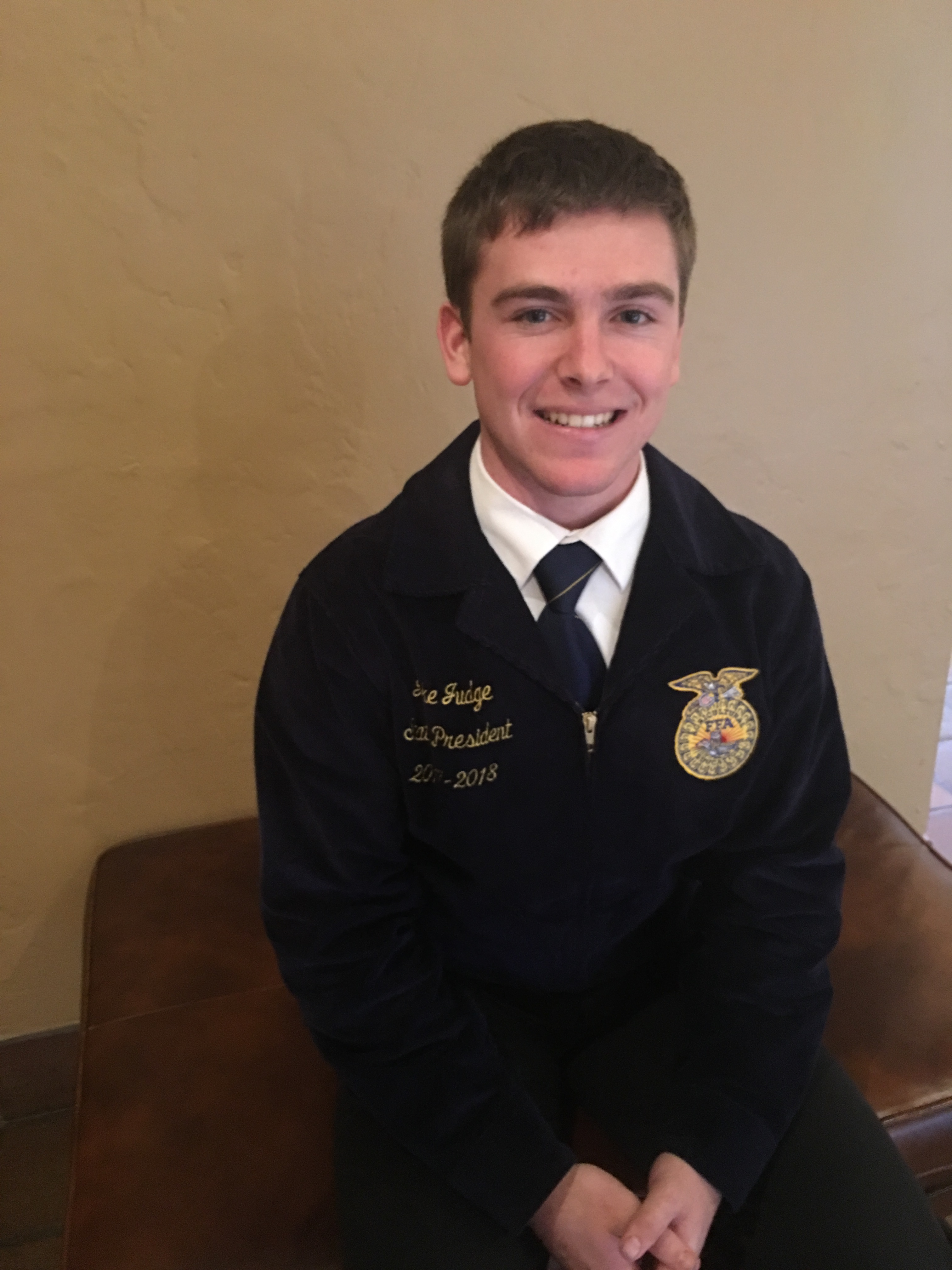 Meet Your 2017-18 State Officer: Jake Judge