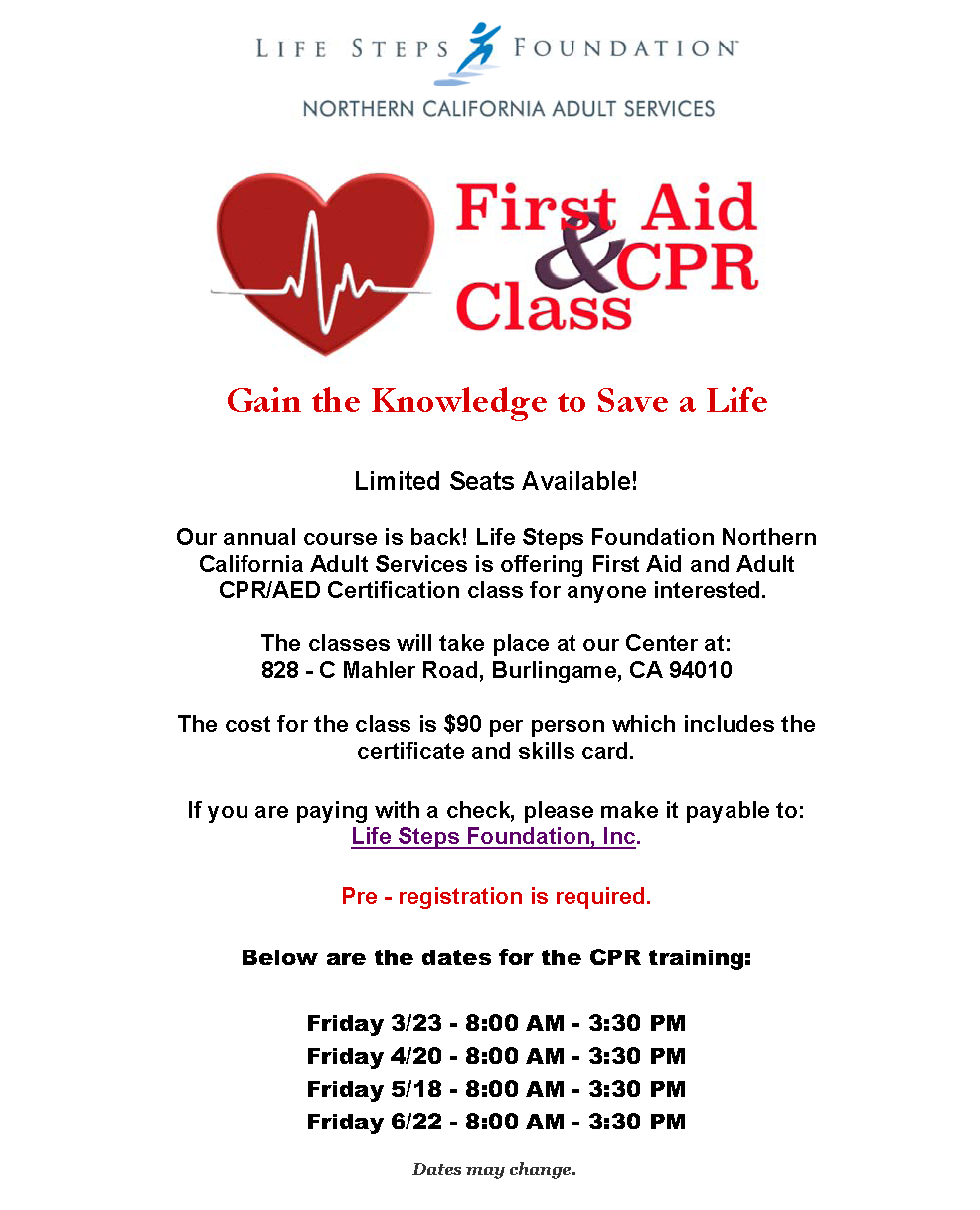 First Aid and Adult CPR/AED Certification