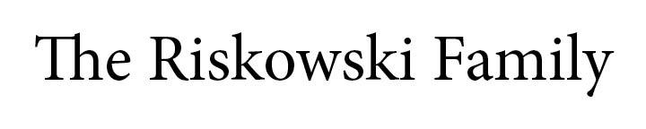 Riskowski Family