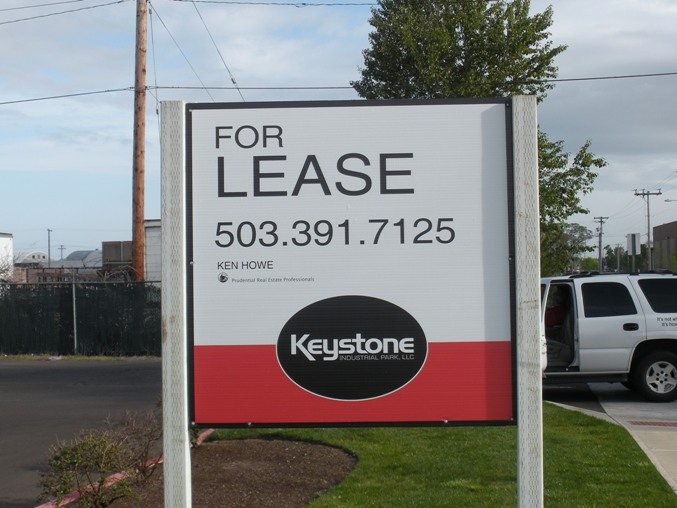 Keystone Real Estate Sign