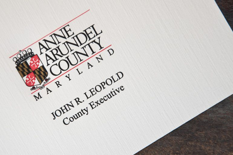 Anne Arundel County Note Card
