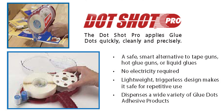 Glue Dots Dot Shot Pro
