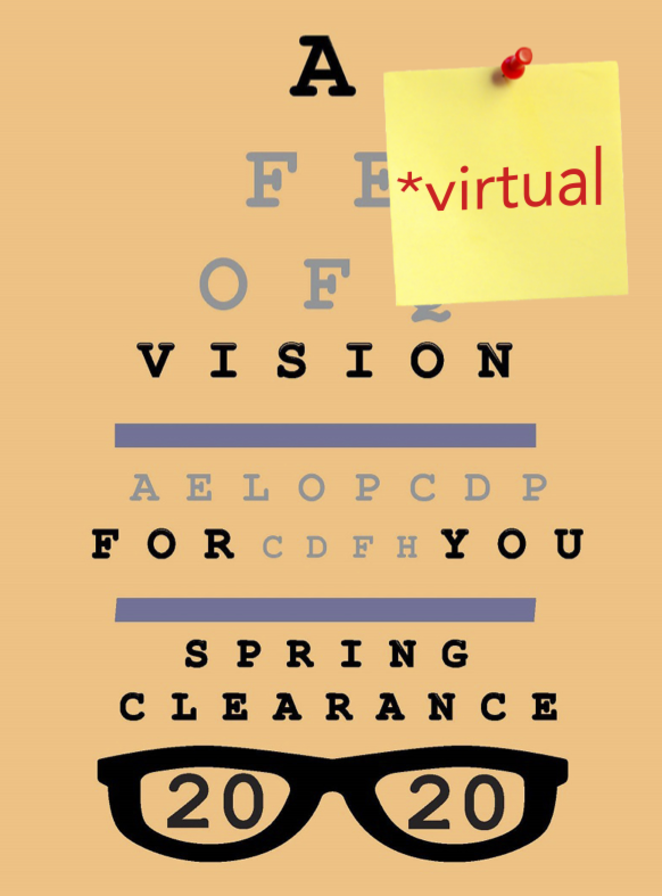 Spring Clearance 2020: A Virtual Vision For You