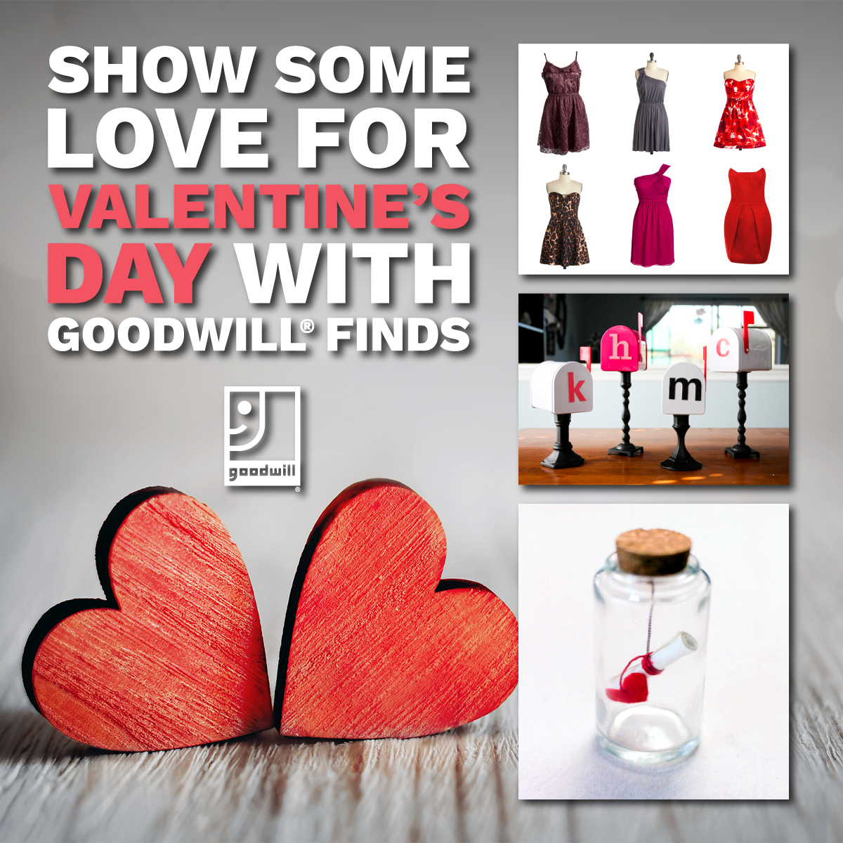 Show Some Love for Valentine's Day with Goodwill