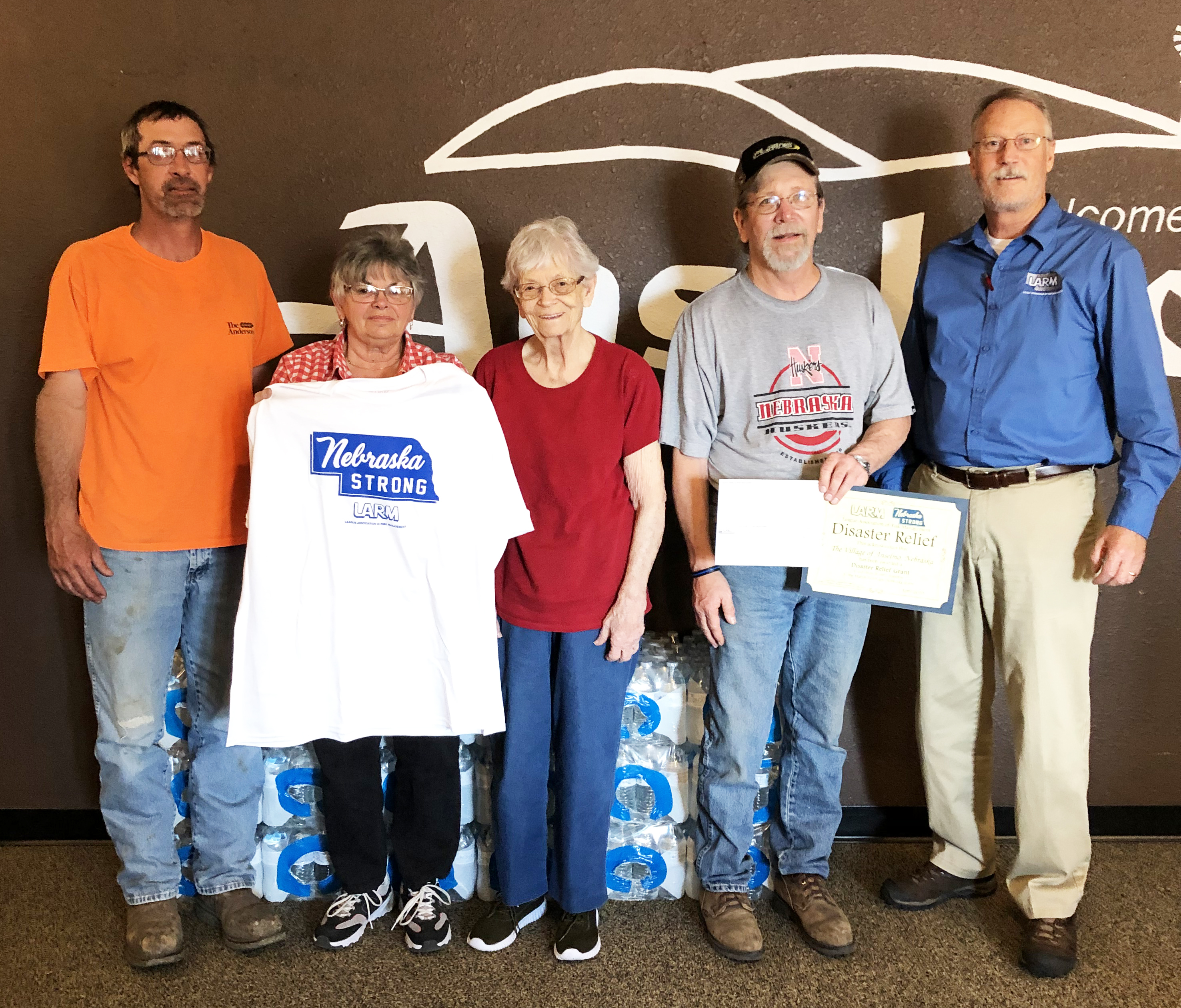 Anselmo recipient of Disaster Relief Funds
