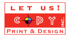 Let Us Copy, Print & Design
