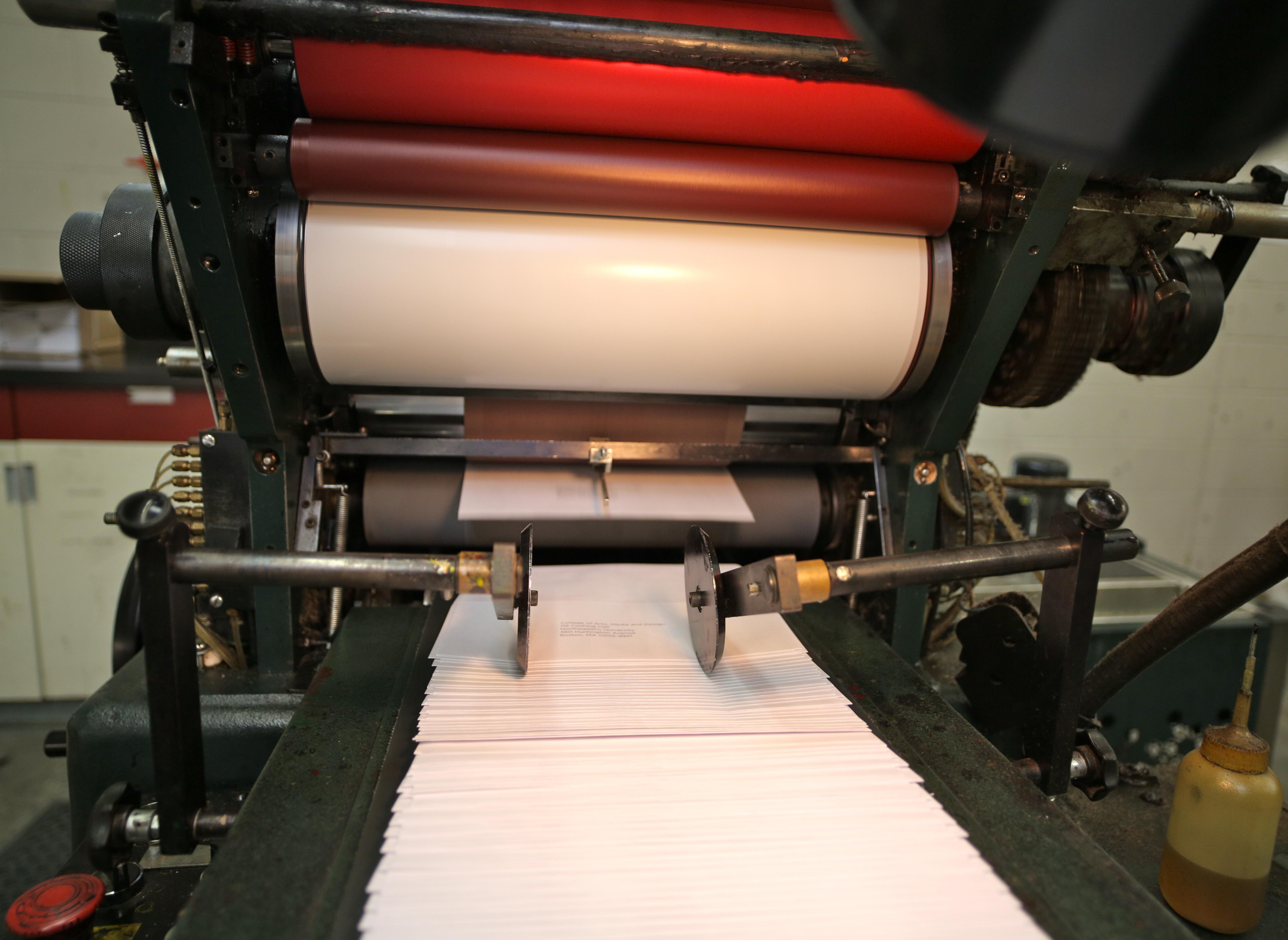Envelope Printing - Offset