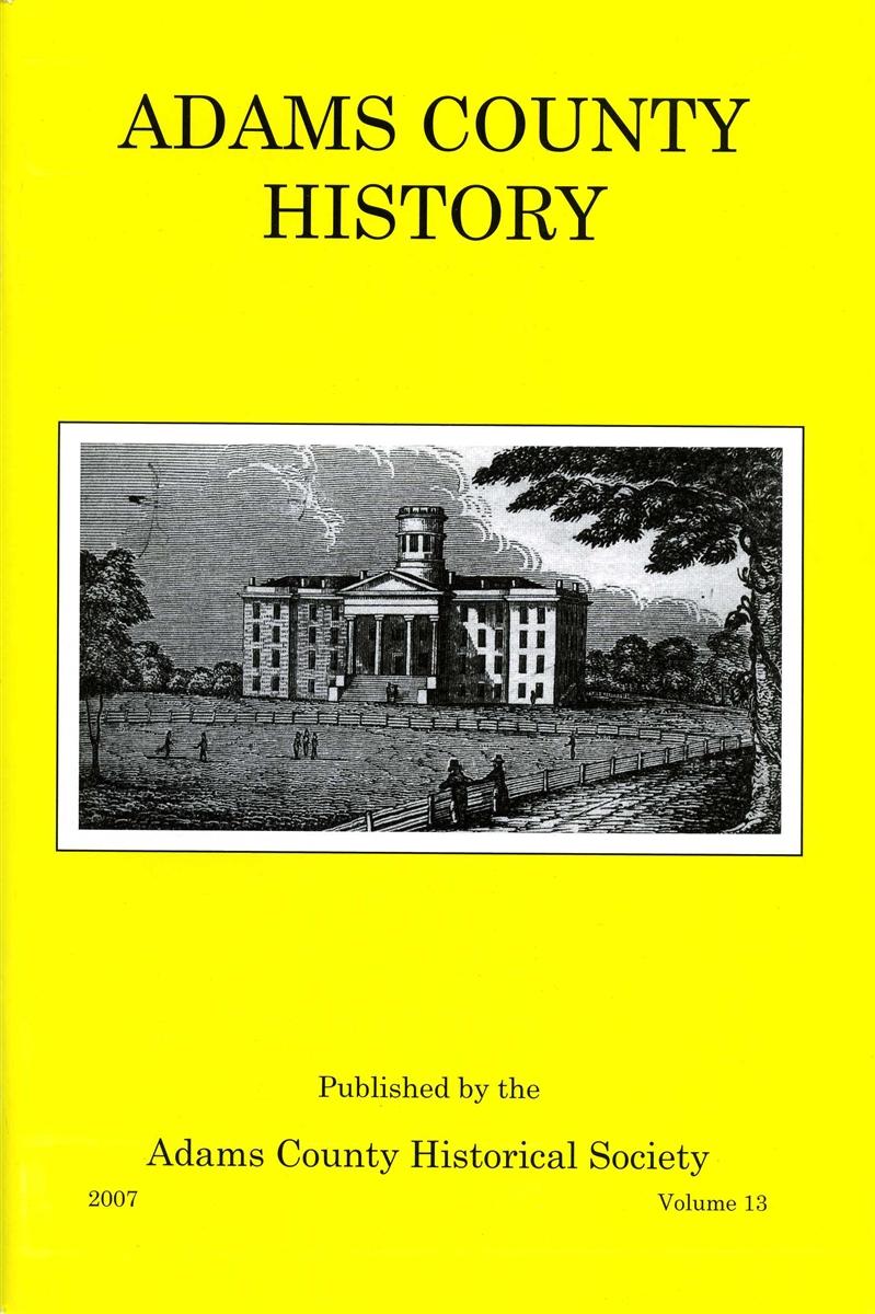 Adams County History Vol 13
