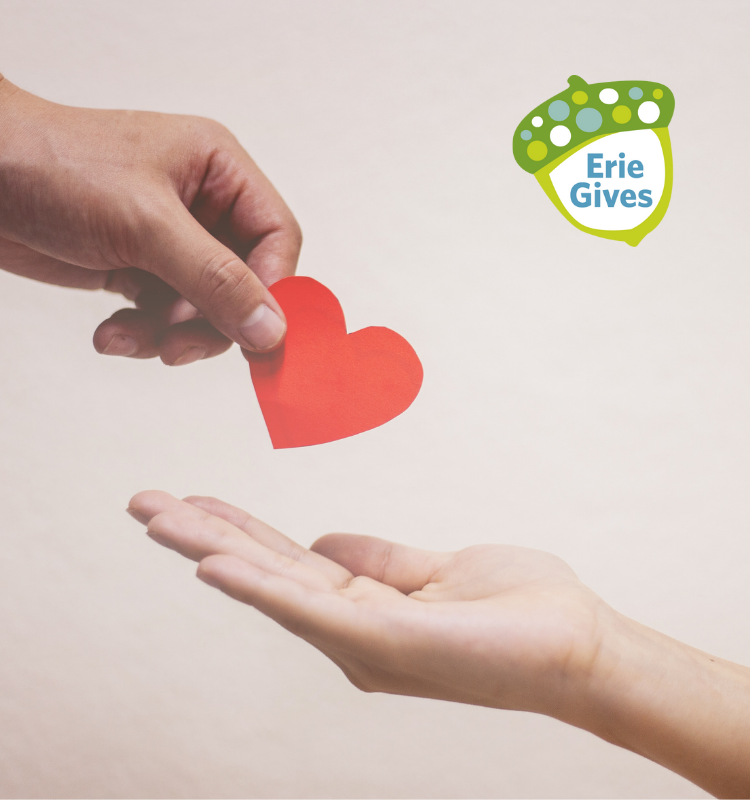 Register your nonprofit for Erie Gives