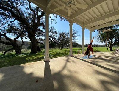 FARM: Yoga on the Porch