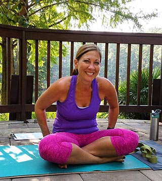 Yoga in the Gardens with Star